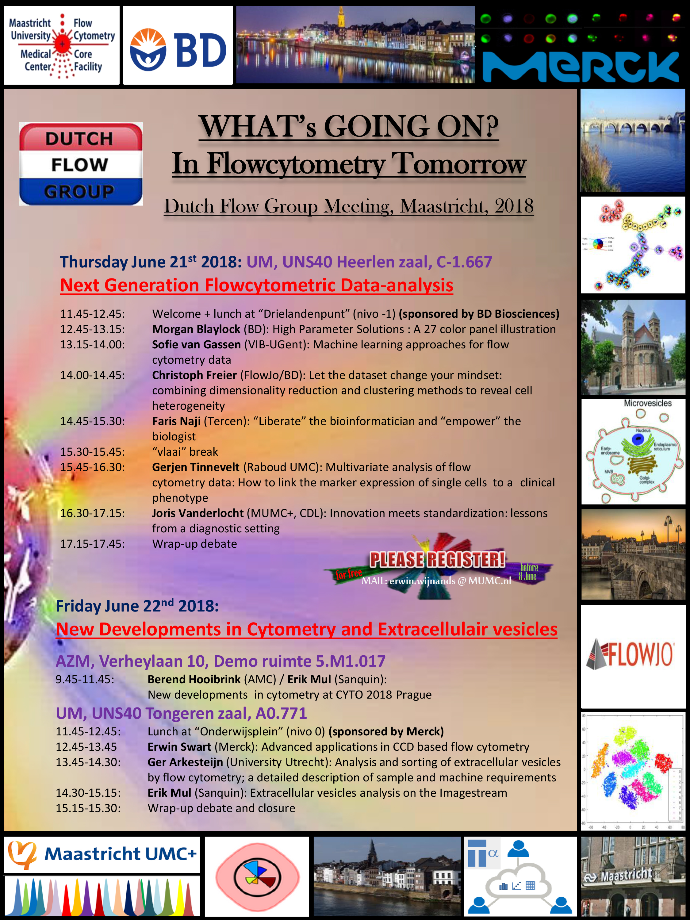 Program Whats going on in flowcytometry tomorrow